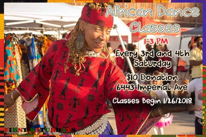 African Dance Class @ Southeast CommUnity Spot