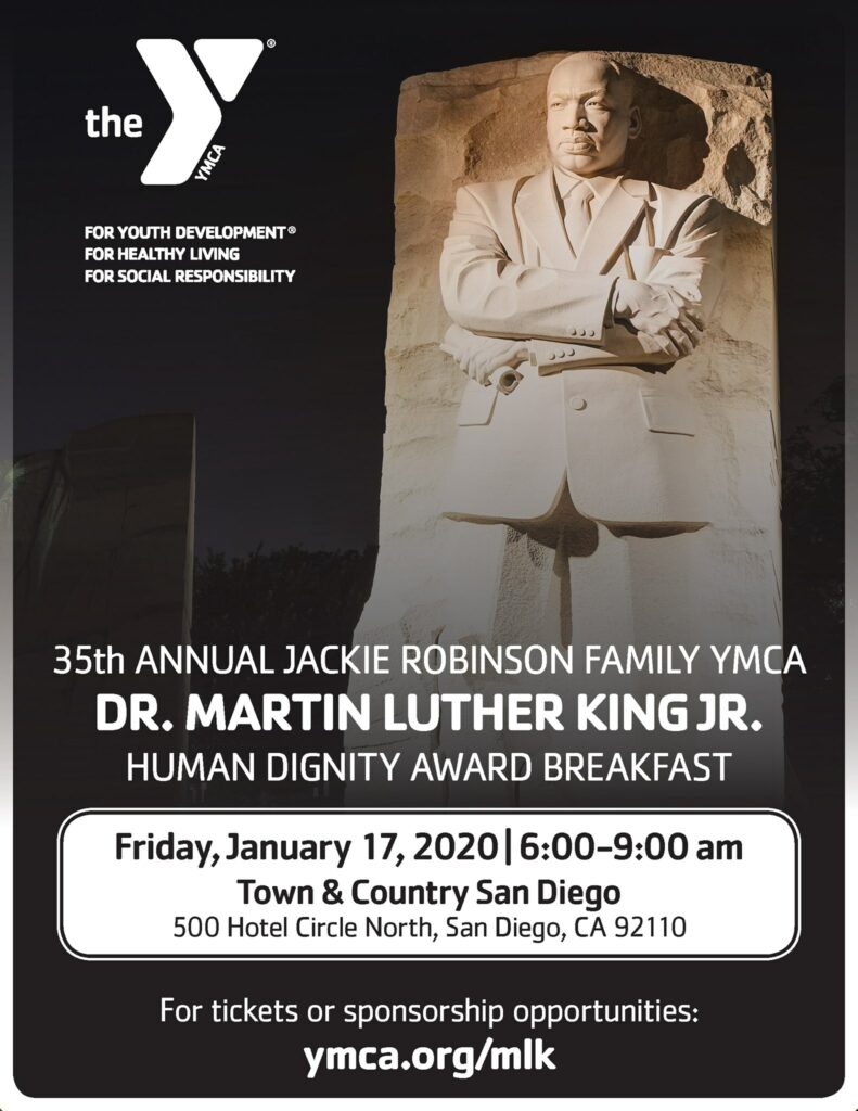 35th Annual Dr. Martin Luther King Jr. Human Dignity Breakfast @ Town and Country San Diego
