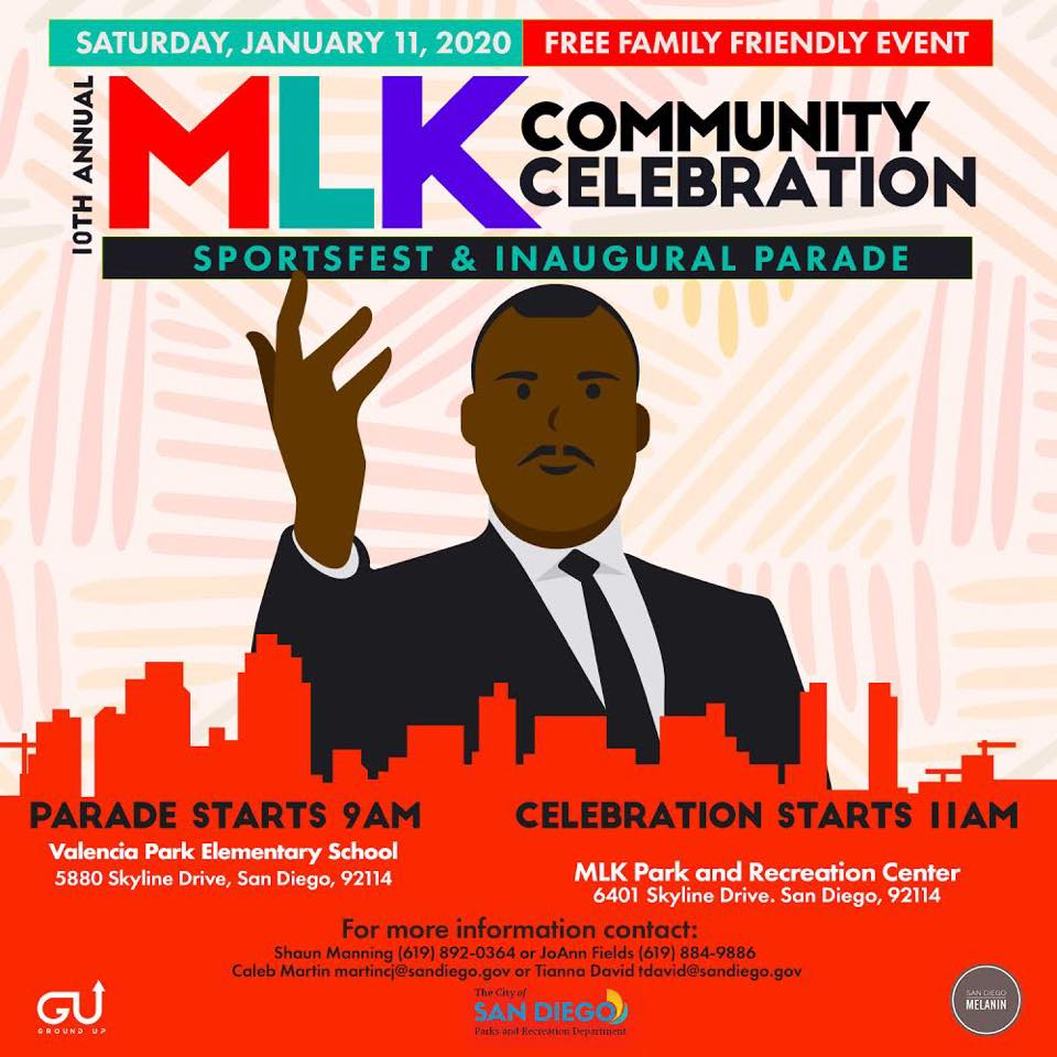 10th Annual MLK Community Celebration & Inaugural Parade